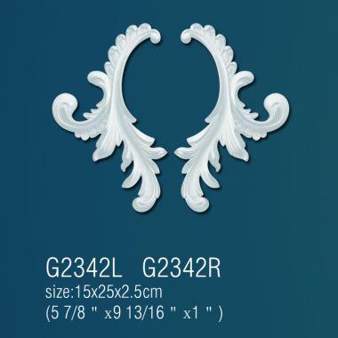 Декоративный орнамент G2342L(R) (15*25*2.5см)