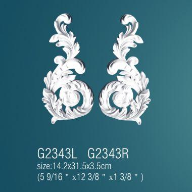 Орнамент из полиуретана G2343L(R) (14.2х31.5х3.5см)