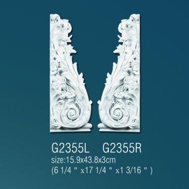 Декоративный орнамент G2355 L(R)  15.9*43.8*3 cm