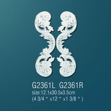 Орнамент из полиуретана G2361 L (R) 12.1х30.5х3.5 cm