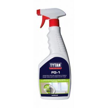 Средство против плесени и грибка без хлора  0,5л. TYTAN F-1