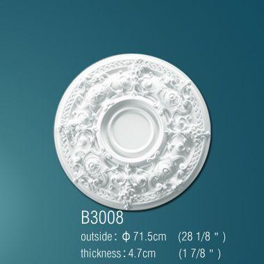 Декоративная розетка В3008 71,5см