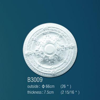 Декоративная розетка В3009 66см