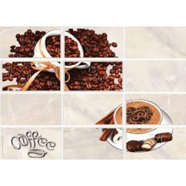 Вставка: Latte Coffe 2, 25x35, светло-бежевый, (LT2M302)