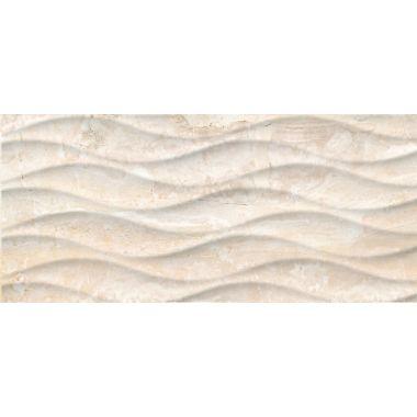 Облицовочная плитка: Wave, 20x44, С1, волна,бежевая, (WAG012D)