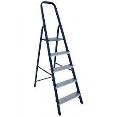 Стальная лестница-стремянка 4-х ступ Н=0,82/2,90м  (М8304)