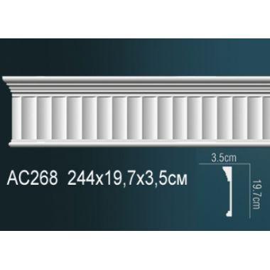 Молдинг для стен с рисунком АС268