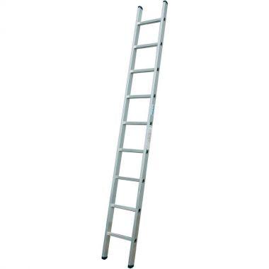 Алюминиевая лестница 1х9  Н=2,51/3,61м  (5109)