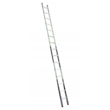 Алюминиевая лестница 1х16 Н=4,5/5,6м   (5116)