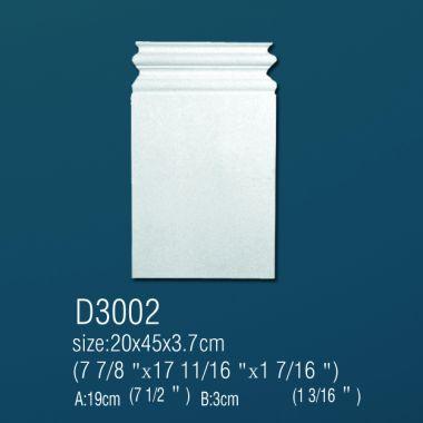 База из полиуретана D3002 45х20х3,7см