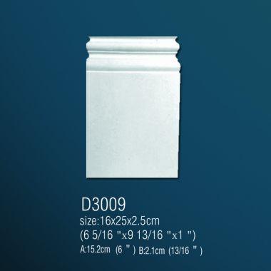 База из полиуретана D3009 25х16х2,5см