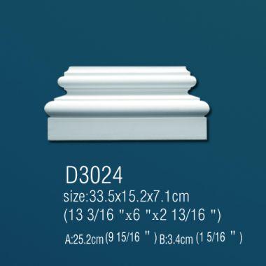 База из полиуретана D3024 33,5х15,8х7,1см