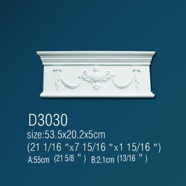 Дверной декор Фриз D3030 53,5х20,2х5см