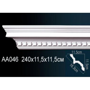 Плинтус потолочный с рисунком АА046 240х11,5х11,5 см
