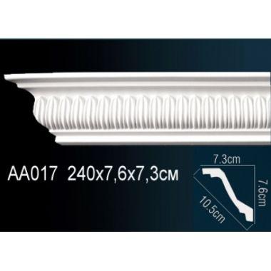 Плинтус потолочный с рисунком АА017 240х7,6х7,3 см