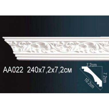 Плинтус потолочный с рисунком АА022 240*7,2*7,2 см