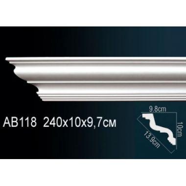 Декоративный потолочный плинтус АВ118