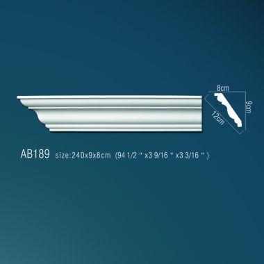 Декор. профиль АВ189 (240х9x8см)