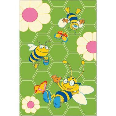 Ковер Aquarelle KIDS 2,05х3,00 Зеленый - Пчелки