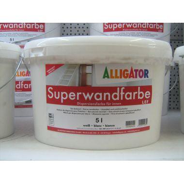 Водоэмульсия Superwandfarbe 5 л (8кг) Alligator