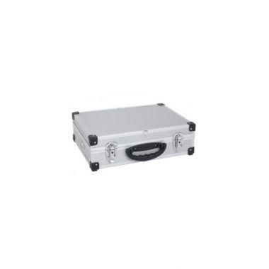 Кейс алюминиевый серебристый  (425х305х125) PRM10101S