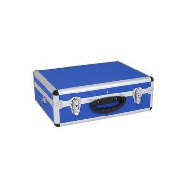 Кейс алюминиевый  голубой  (460х330х160) PRM10102BL