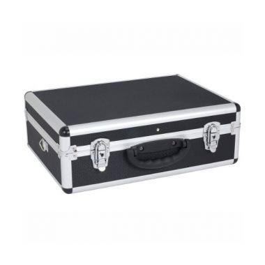 Кейс алюминиевый  черный  (460х330х160) PRM10102B