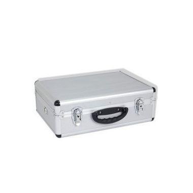 Кейс алюминиевый  серебристый  (460х330х160) PRM10102S