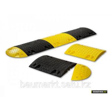 Лежачий полицейский 9012 50х35х5см, желтый, черный