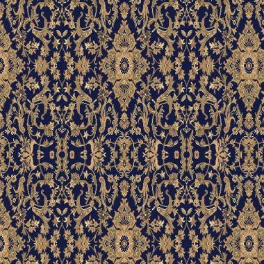 Ковролан Aquarelle 160 8 41011, т.синий с узором,  4м
