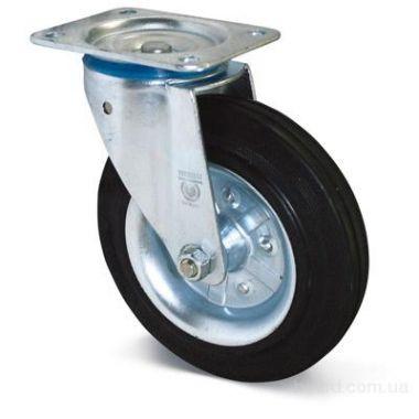 Колесо с платформой полиэтилен поворотное, 125мм, 036125