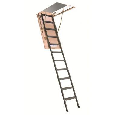 Лестница-люк чердачная металлическая Fakro LMS 120x60 h=280