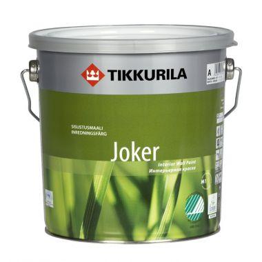 Водоэмульсия  Тиккурила Джокер (баз.А) 0,9л,для жилищ
