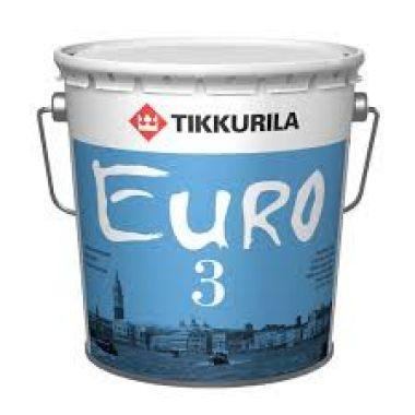 Латексная акриловая Водоэмульсия для внутр Тиккурила Euro 3 0,9 л