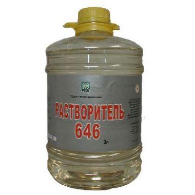 Растворитель 646 (1л)