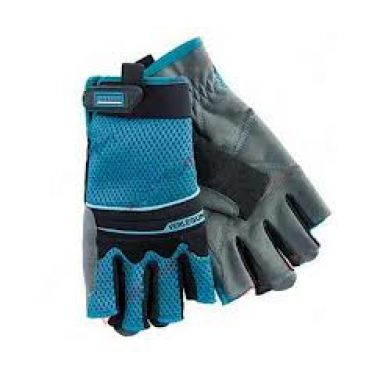 Защитные перчатки комбинированные, облегченные, открытые пальцы   М   GRO