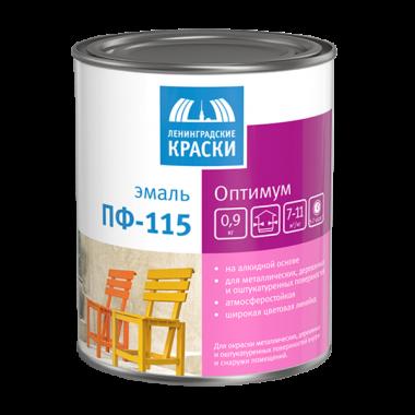 Эмаль ТЕКС ПФ-115 Оптимум-New глянцевая Шаровая (серая) 1,9кг