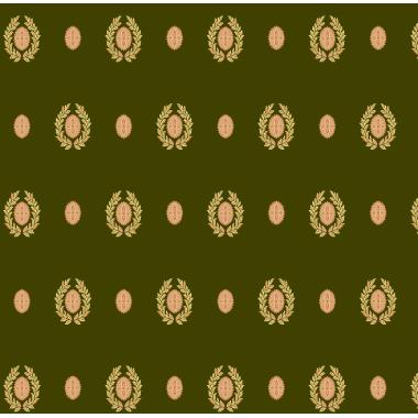 Ковролан Туран 5386А  Зеленый с медальонами  4,0м