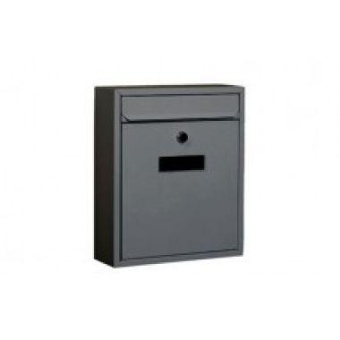 Почтовый ящик IBIZA  металлический черный BG.400.0