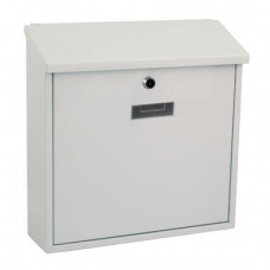 Почтовый ящик MONACO  металлический белый  BG.300.0
