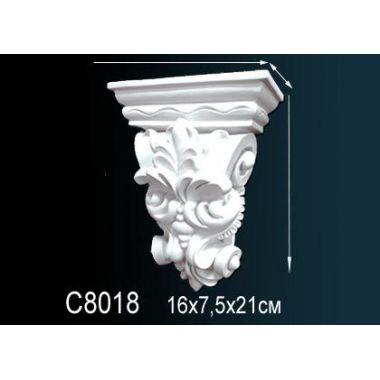 Декоративная консоль С8018 16х7,5х21см