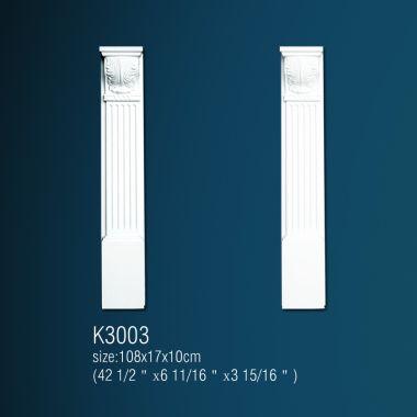 Декоративный постамент К3003 108х17х10см