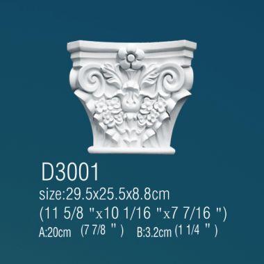 Капитель D3001 25,5х29,5х8,8см