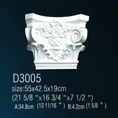 Капитель D3005 42,5х55х19см