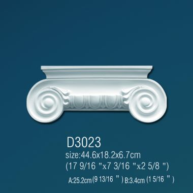 Капитель D3023 44,6х18,2х6,7см