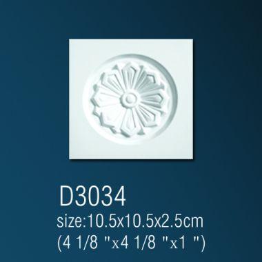Капитель D3034 (10.5*10.5*5.2 см)