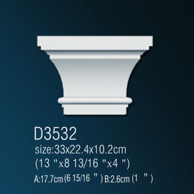 Капитель D3532 33x22,4x10,2см