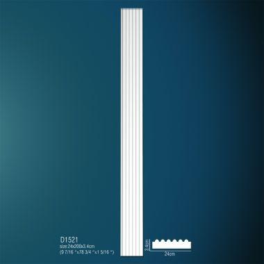 Декоративная пилястра D1521 200х24х3,4см