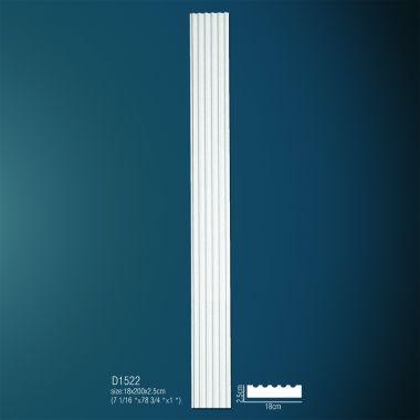 Декоративная пилястра D1522 200х18х2,5см