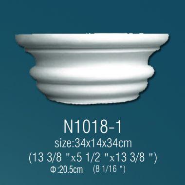 Капитель N1018-1 (34 x 14 x 34cм)